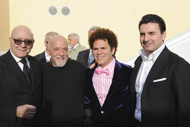 Montegrappa celebrate author Paulo Coelho with the Alchemist Pen.