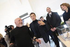 Paulo Coelho and Jean Alesi