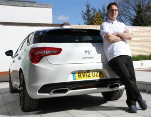 BBC MasterChef 2011 winner and Citroen create Delicious by DS5 for charity. 8