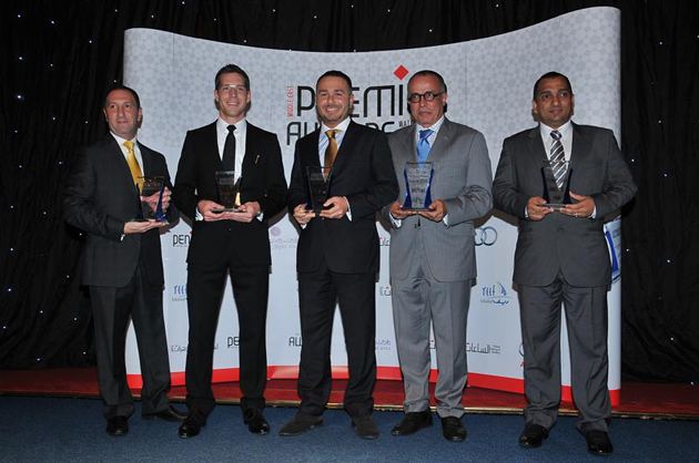 Montegrappa receives a hat trick of awards in the Middle East.