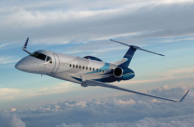 Embraer kicks off Legacy 650 Flight Demo with new interior.