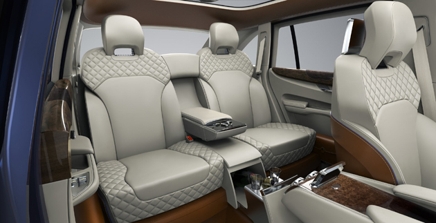 Bentley Reveals Powertrain Details for the Bentley EXP 9F Luxury SUV Concept. 12
