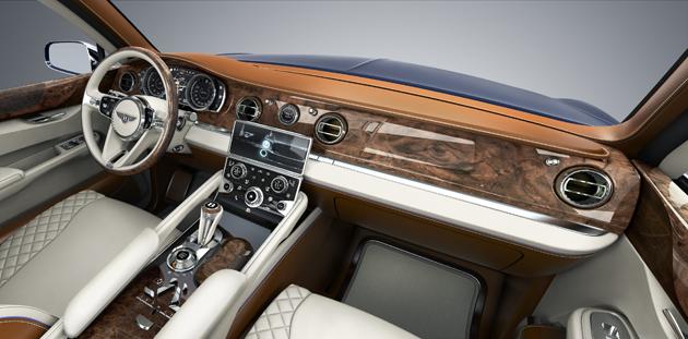 Bentley Reveals Powertrain Details for the Bentley EXP 9F Luxury SUV Concept. 11