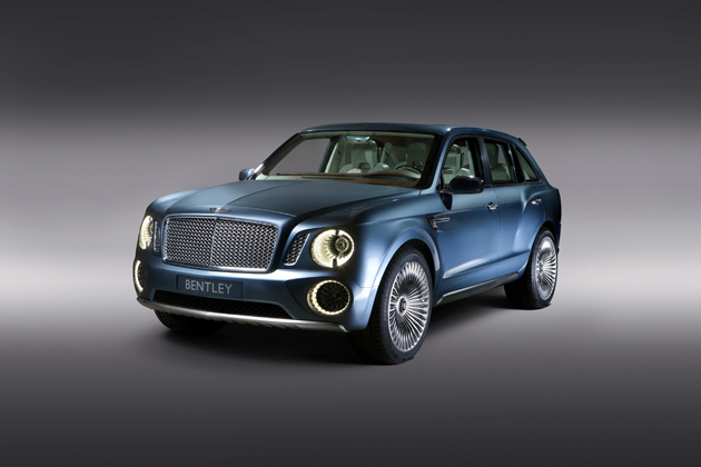 Bentley Reveals Powertrain Details for the Bentley EXP 9F Luxury SUV Concept.