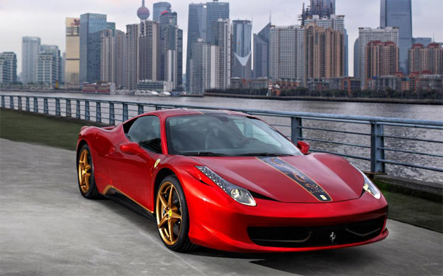 Ferrari Celebrates its 20th Anniversary with an Exhibition in China and a Special 458 Edition.