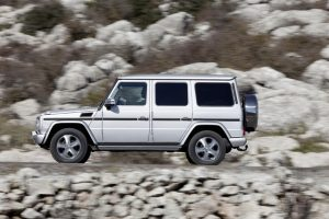 The latest incarnation of the Mercedes-Benz G Class - Forever Young. 11