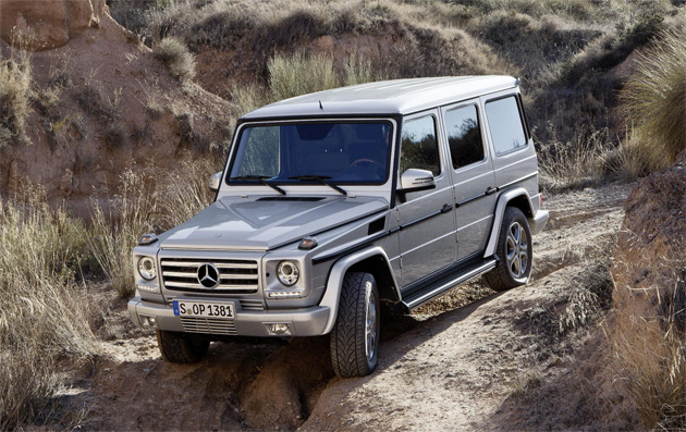 The latest incarnation of the Mercedes-Benz G Class - Forever Young. 10
