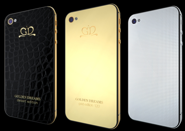 Swiss Company Golden Dreams reveals possibly the most Luxurious iPhone Collection in the world