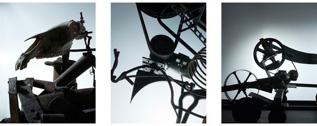 "The MB&F MAD Gallery presents Denis Hayoun - "" A Vision of Tinguely's World"" 7"
