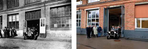 The Volvo Group turn back time in Goteborg by replicating a historic photographic moment.