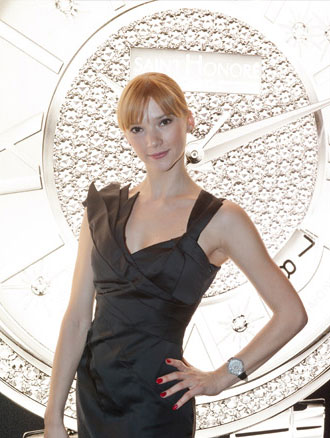 Ballet Dancer Kateryna Shalkina is the new Saint Honore ambassador of charm. 8