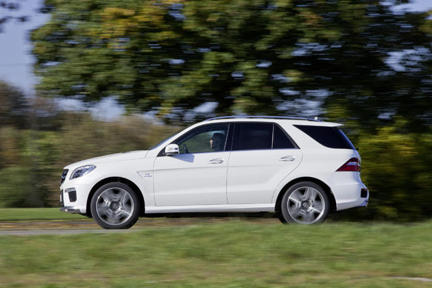 The New Mercedes-Benz ML 63 AMG - Priced and Equipped for a Fast Getaway.