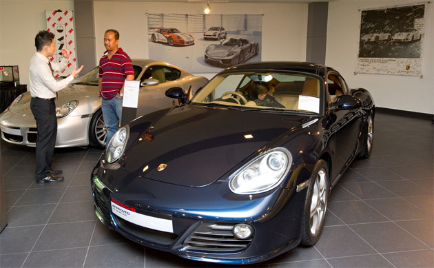 Sime Darby Auto Performance Established Porsche Approved