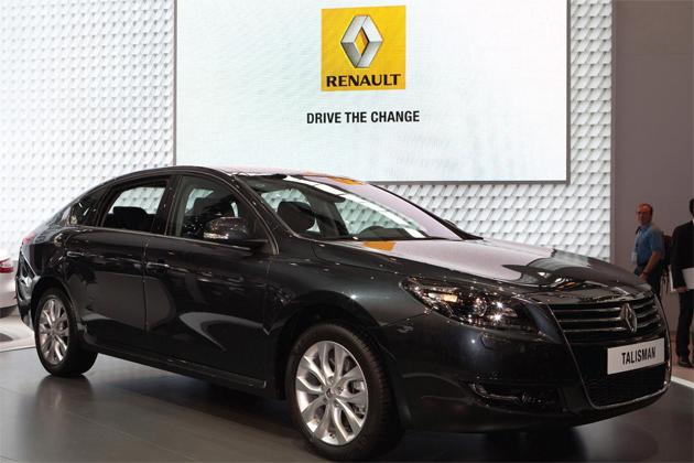 Renault unveils Talisman Luxury Saloon at Beijing Motor Show. 7