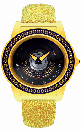 The de Grisogono Tondo By Night watch Collection, Luxurious and technical. 8