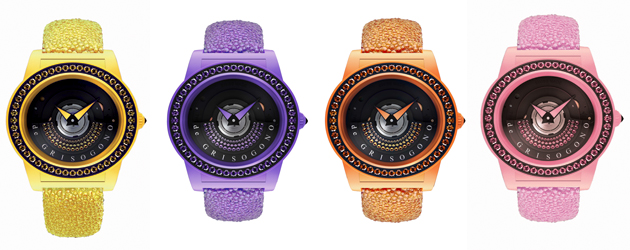 The de Grisogono Tondo By Night watch Collection, Luxurious and technical. 7