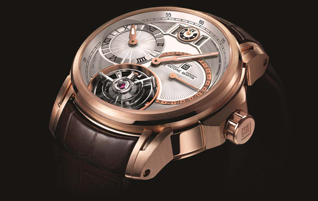 The Antoine Martin Quantième Perpétuel flying tourbillon combined with a perpetual calendar.