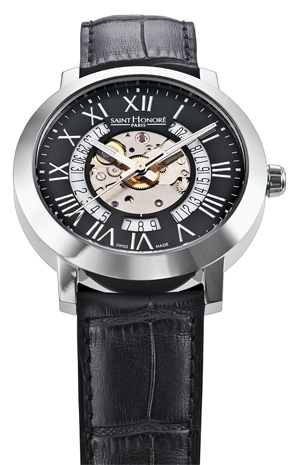 The new Saint Honore Trocadero Gents wrist watch - Dressed to Impress!