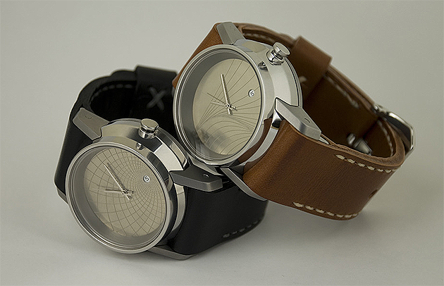 British design company Industrial North Design launch their limited edition Britannic and Vanguard watches.