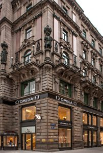 Omega has officially opened its new flagship boutique in Vienna, Austria.