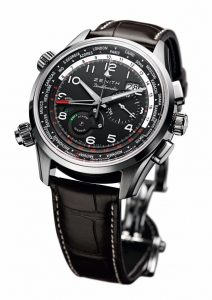 The Zenith Pilot Doublematic Watch - Day and Night, Here and There. 4