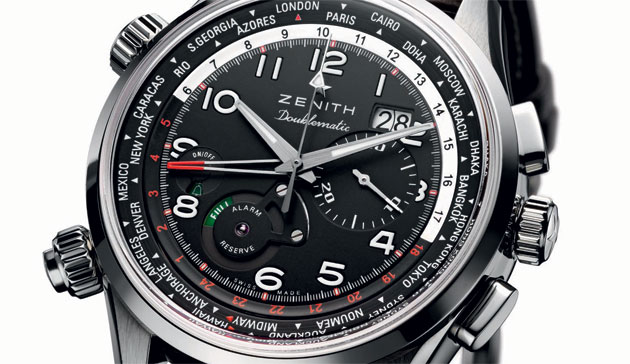 The Zenith Pilot Doublematic Watch - Day and Night, Here and There.