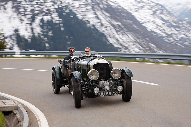 Iconic Bentley Blowers get ready for the world famous Mille Miglia adventure.