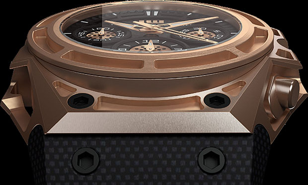 Linde Wedelin introduces the SpidoSpeed 18k Gold. A limited edition of 100 time pieces.