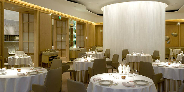 To celebrate the Chelsea Flower Show, Alain Ducasse introduces the Lunch Flower Menu at the Dorchester.