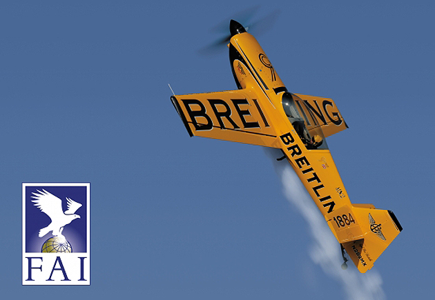 Watch company Breitling is set to fly with the FAI.