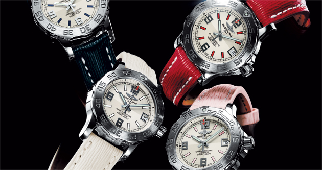 The Breitling Colt 33 ladies watch - A supersporty model for elegant women