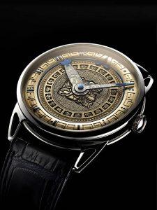 De Bethune presents a 12 piece edition tribute - The Ninth Mayan Underworld watch.