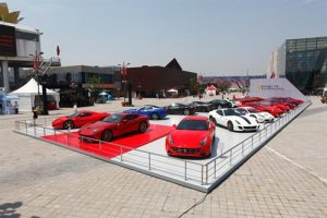 The Ferrari myth exhibition has officially opened at Italian Center at Shanghai Expo Park.