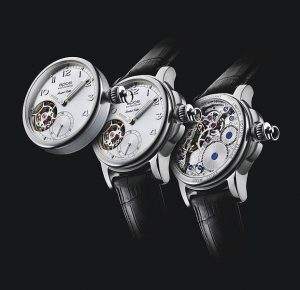 The Epos 3419 Collection Oeuvre d'art wrist watch or pocket watch.