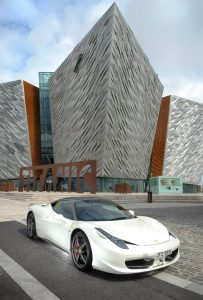 Ferrari owners' clubs to gather in Belfast, Northern Ireland for Titanic Tour.