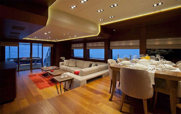 Vicem Yachts, Turkish builders of luxury classic motor yachts and mega-yachts, has launched the all-mahogany motoryacht 107 Cruiser (MY Moni).