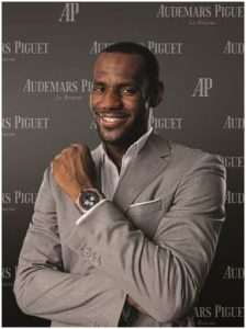 Audemars Piguet proudly congratulates its Ambassador LeBron James who was named Most Valuable Player (MVP) for the 2011-12 regular NBA season, on Saturday 12May 2012.