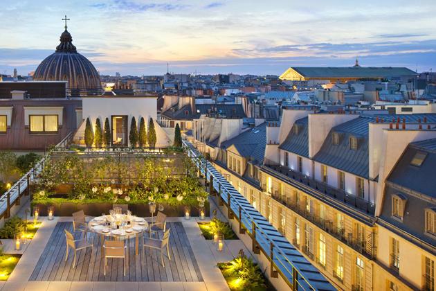 Mandarin Oriental, Paris Opens Its Delightful Garden For The Summer