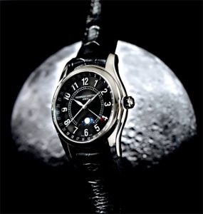 Frederique Constant Moon Timer watch - Inspired by the Moon.