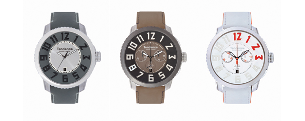 The Tendence Watches Swiss Made 50mm watch collection.