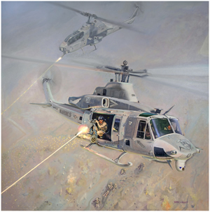 "Bell Helicopter Honors H1 ""Yankees and Zulus"" in the Second of the ""Heroes of Aviation"" Series."
