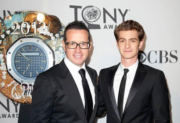 66th Tony Awards 2012 - Francois-Henri-Bennahmias and Andrew-Garfield