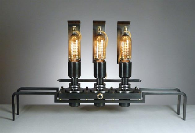 Frank Buchwald - Machine Lights Type No. 5 - L. 64cm H. 38 cm - Price: CHF 9'500.- (including Swiss VAT)