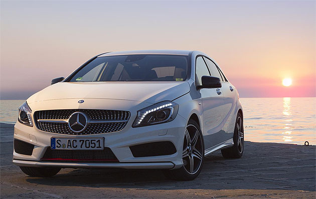 the new mercedes benz a class model range including the exciting amg a class sport luxurious. Black Bedroom Furniture Sets. Home Design Ideas