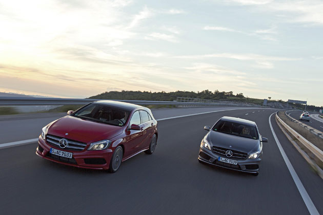 The new Mercedes-Benz A-Class model range including the exciting AMG A-Class Sport.