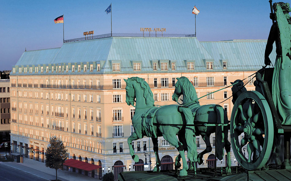 the Iconic Hotel Adlon Kempinski in Berlin, Germany.