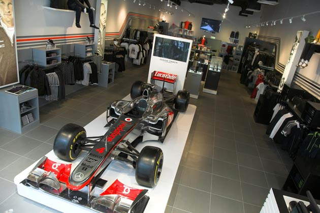 McLaren, Aston Martin and Aston Martin Racing open Inside Track the store the first in the UK.