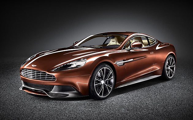 Aston Martin unveils a stunning new luxury sports car – the Aston Martin Vanquish.