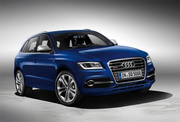 The Audi SQ5 TDI is launched in Le Mans. The SUV it the company's first diesel powered S model.