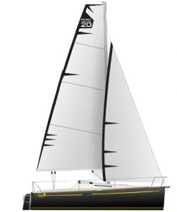 The Beneteau First Twenty and First 25S Yachts from the special Twenty series.